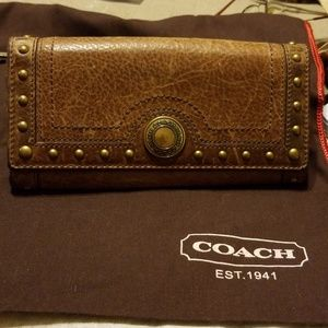 Vintage Coach leather wallet